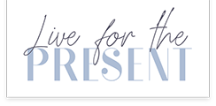Live For The Present logo